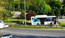 Страховит инцидент с автобус в Тракия, по чудо няма пострадали